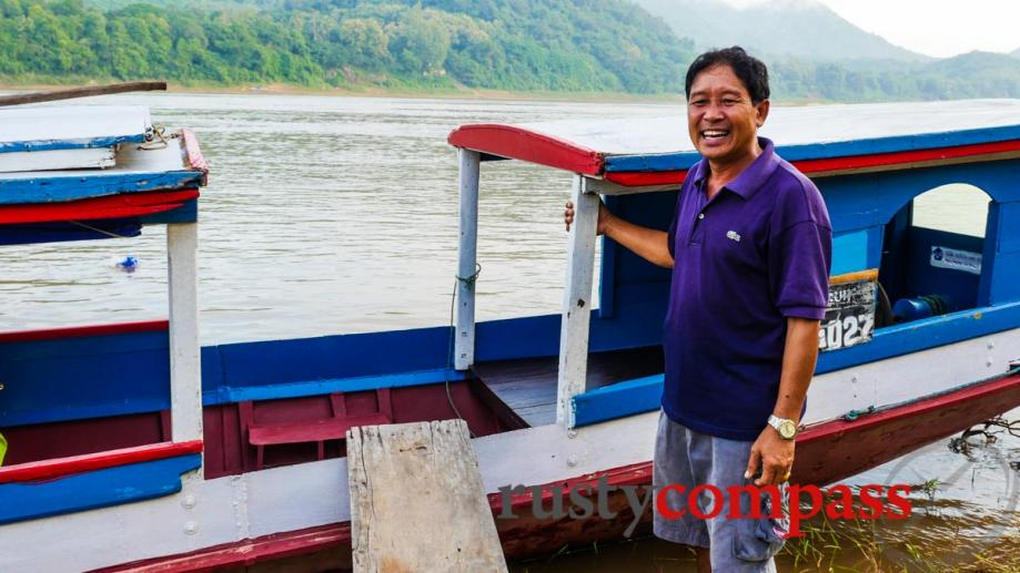 Mekong boat trips - an essential Luang Prabang experience. Here...