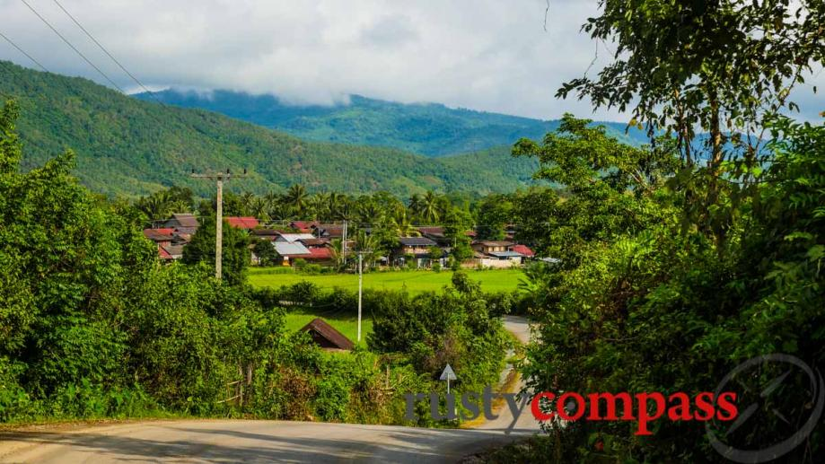 Luang Prabang, countryside en-route to Kuang Si waterfalls.