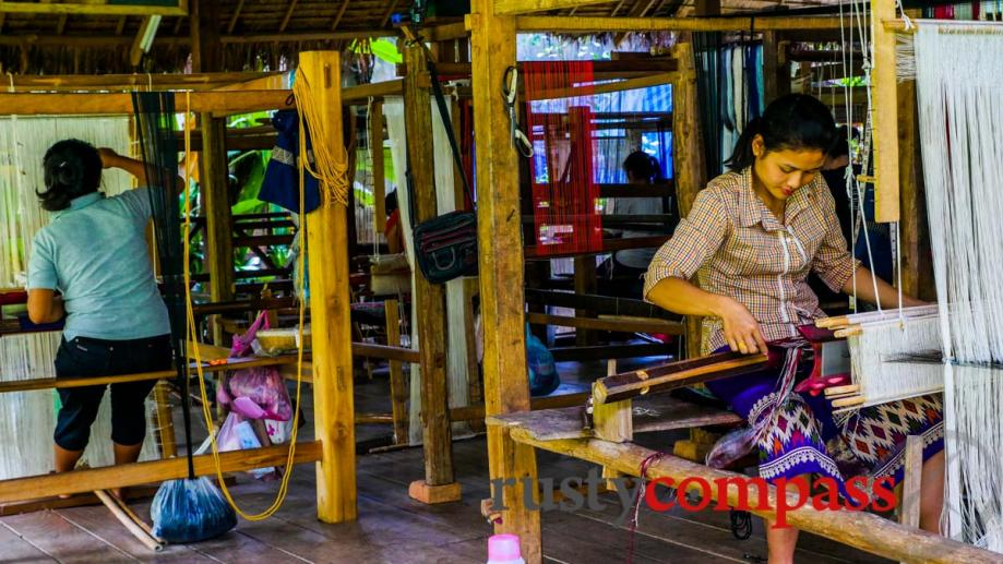 Ock Pop Tok craft centre, Luang Prabang
