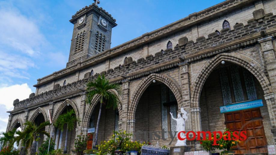 Around town, Nha Trang's Catholic Cathedral is worth a look.