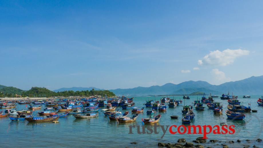 Cycling north of Nha Trang