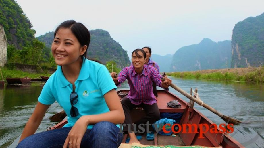 Ms Tuyen - Tour guide from Handspan Travel.