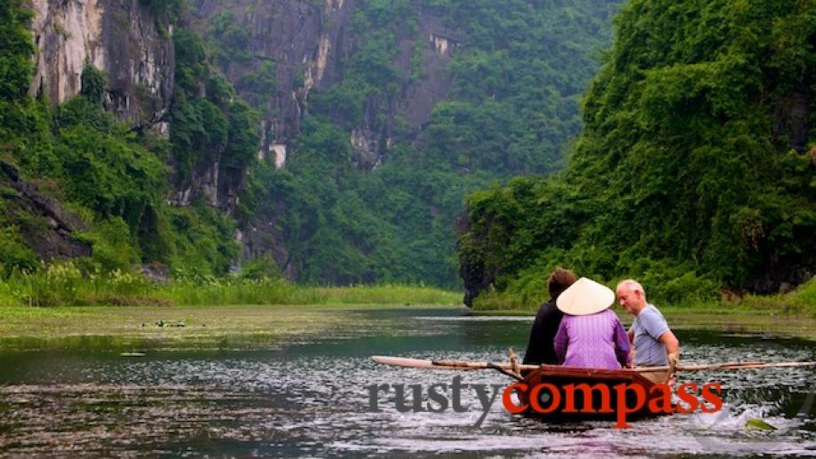 Boating at Tam Coc. There are now 3 boat options -...
