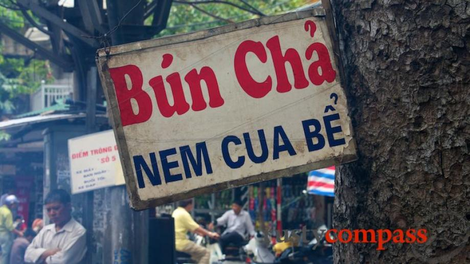 Some of Hanoi's best streets food and more upscale dining...