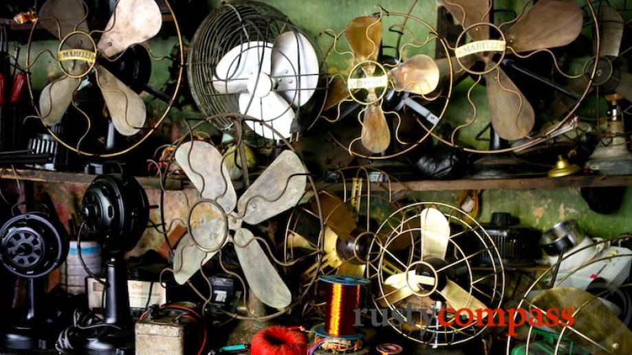 The old fan shop - Old Quarter Hanoi.