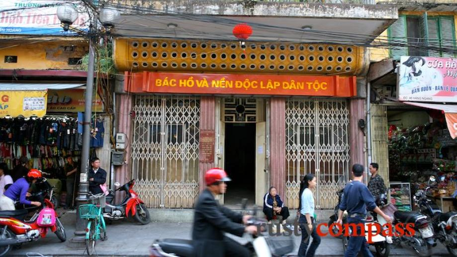 The house in which Ho Chi Minh penned his country's...