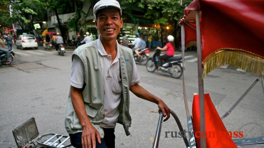 Faces of Hanoi's streets