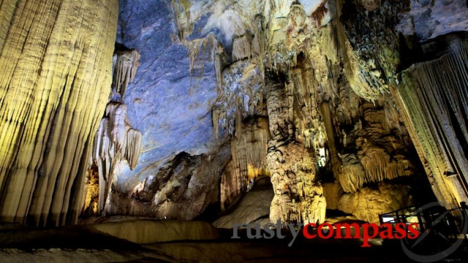 Nothing prepares for the scale and beauty of Paradise Cave....