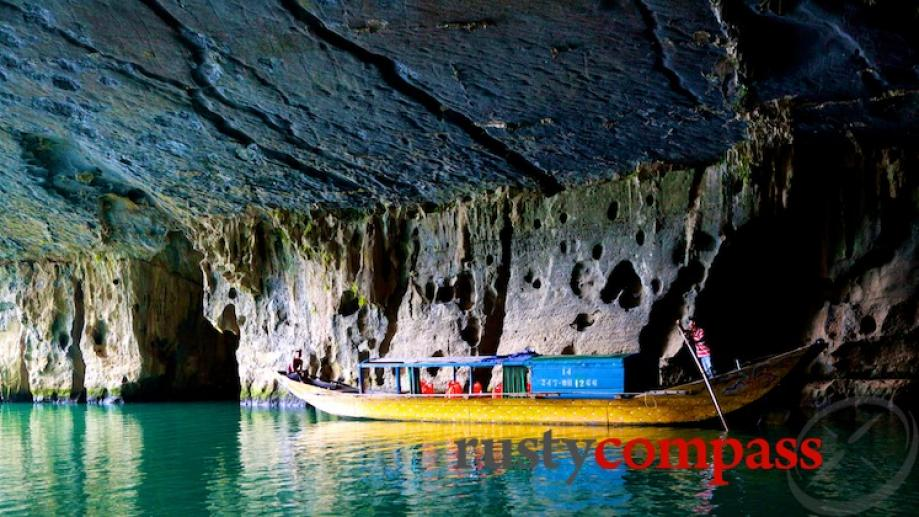Phong Nha Cave. Make sure you visit this area away from...