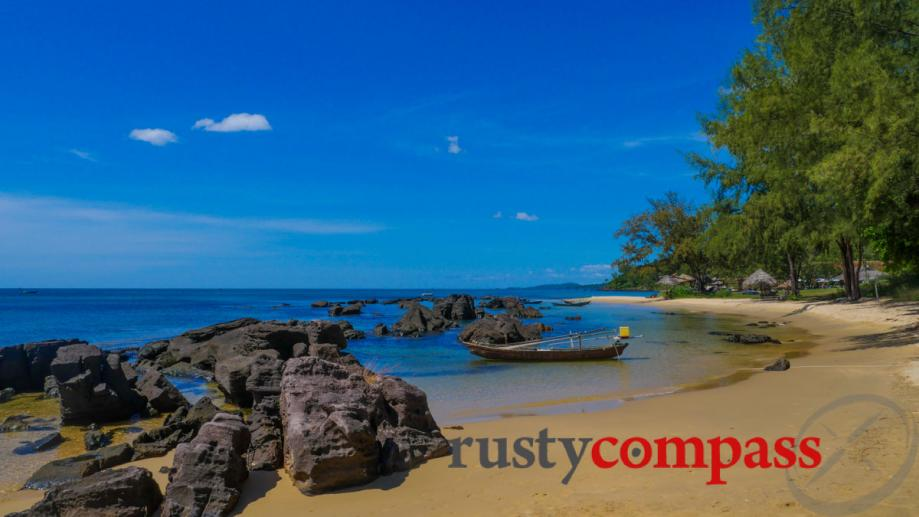 Mango Bay Resort, Phu Quoc Island - 1km of beach...