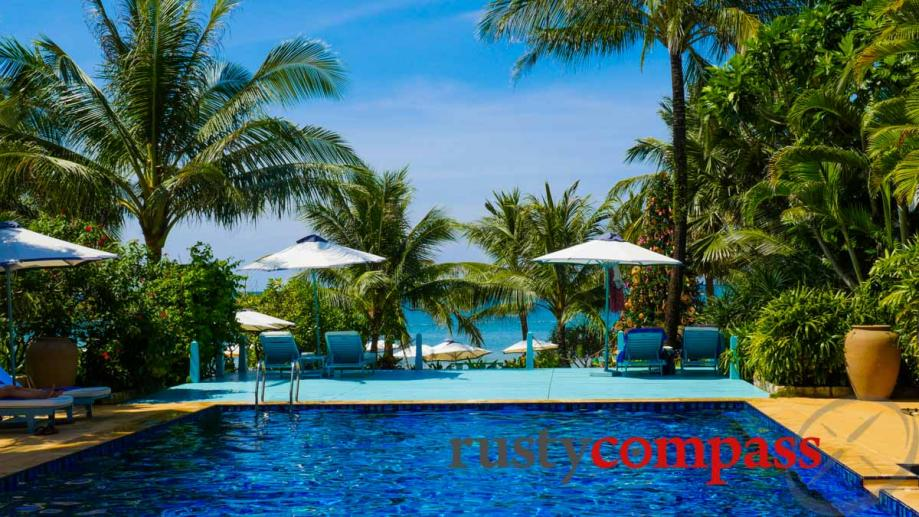 La Veranda Resort, Phu Quoc. The pool.