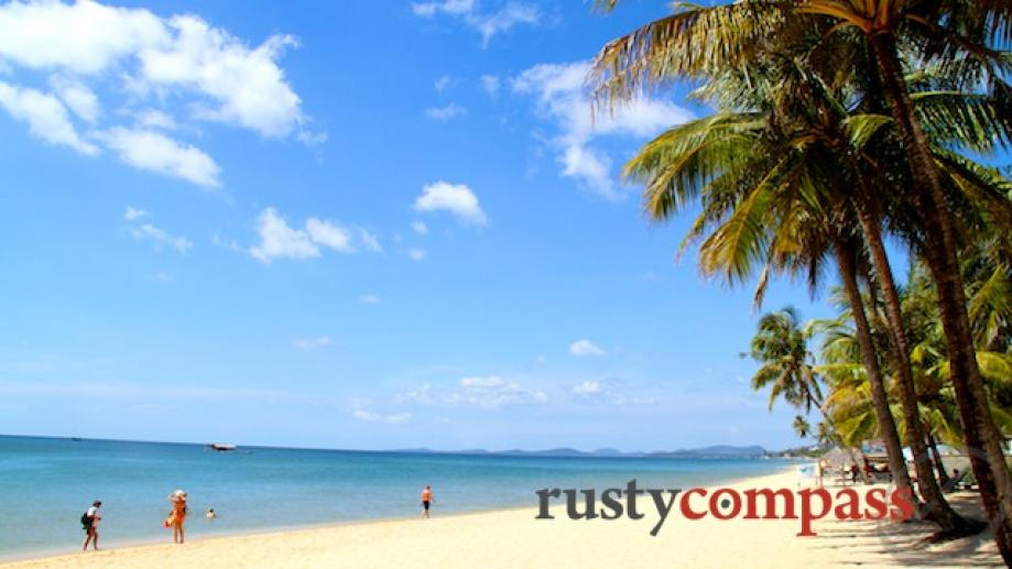 Phu Quoc Island is all about the beach. There isn't...
