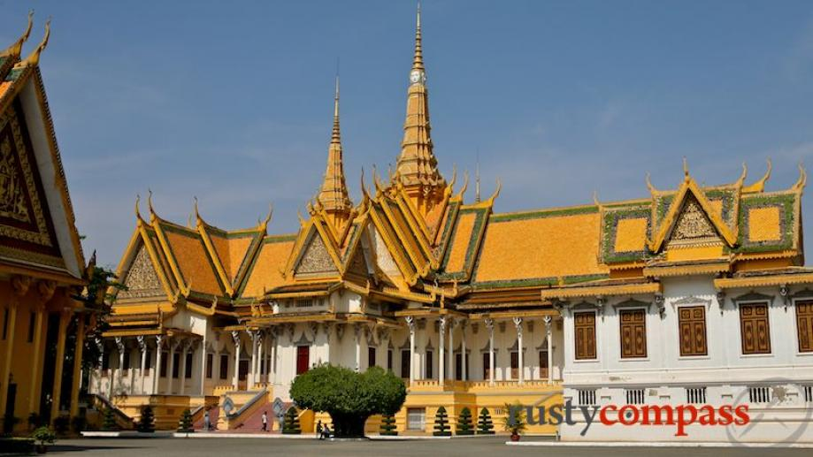 Phnom Penh's sprawling Royal Palace is the symbol and focal...