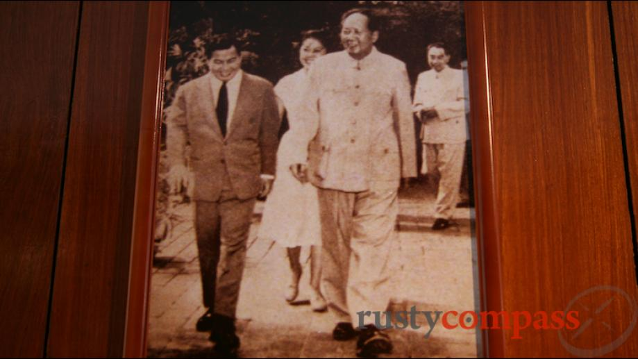 Sihanouk and Mao Sihanouk was a player large and small in...