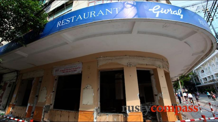 Gutted - Givral Cafe no more after six decades.