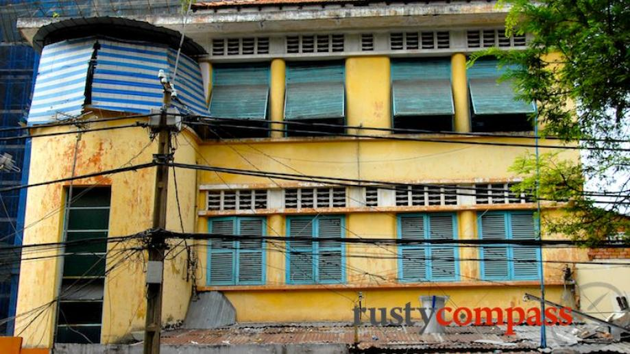 Heritage buildings facing demolition, Saigon. Many foreigners assume that interest...