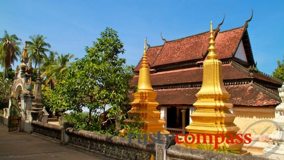 Siem Reap is home to some serene old Buddhist temples....