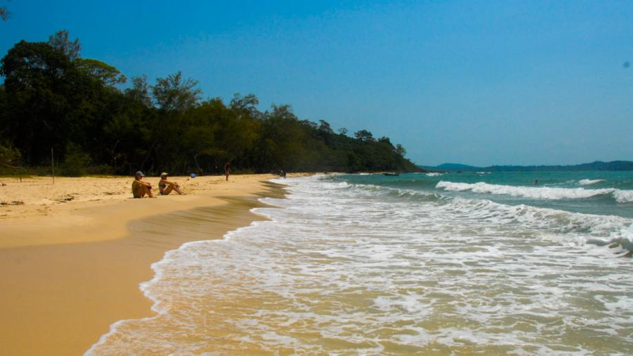 Secluded beach - Ream National Park, Sihanoukville, Cambodia