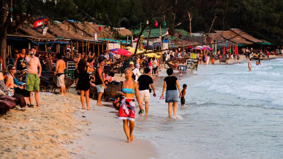 Image result for Tourists in Sihanoukville