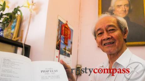 Mr Ky the legal scholar, Saigon