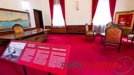 Changes at Saigon's former Presidential Palace