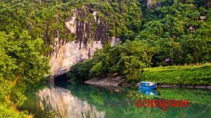 Cycling to Phong Nha Cave