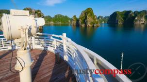 The Au Co cruise, Halong Bay - in real life