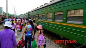 The ride from Hanoi to Cat Ba Island - rail and boat