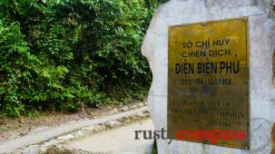 General Giap's bunker at Muong Phang outside Dien Bien Phu