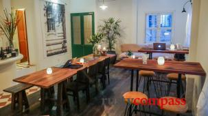 The Old Compass Cafe - our cosy home in Saigon