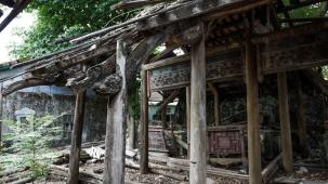 A temple ruin, Hue, Vietnam