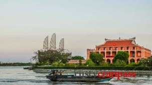 A walk along the Saigon riverfront
