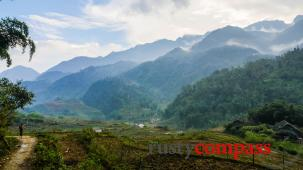 Walking the mountains and villages around Sapa, Vietnam
