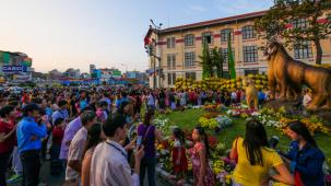 Happy Year of the Goat - Saigon's Tet Flower Street