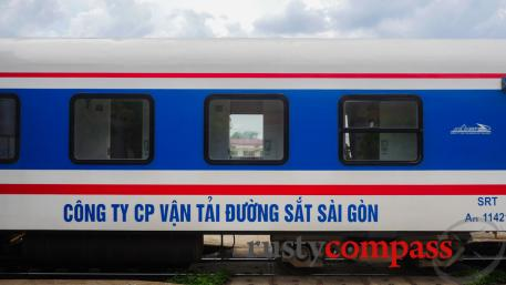 Vietnam by rail - The train from Phan Thiet to Saigon